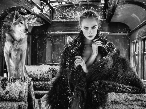 David Yarrow - Cara Delevingne