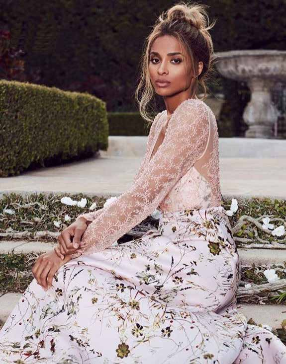 CIARA IN FLOARAL EMBROIDERED GOWN