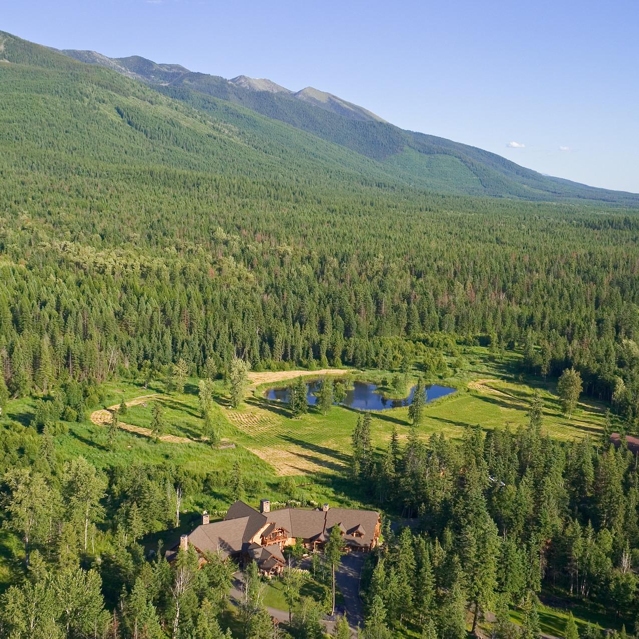 Aerial View of Deer Creek