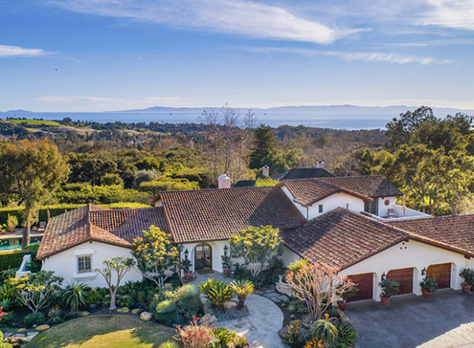 Quintessential Mediterranean-Style Montecito View Estate
