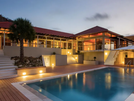 Opulent 9,903 Square Foot Villa in Curacao