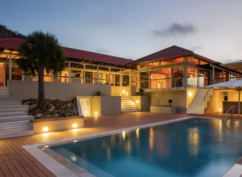 Opulent 9,903 Square Foot Villa in Curacao