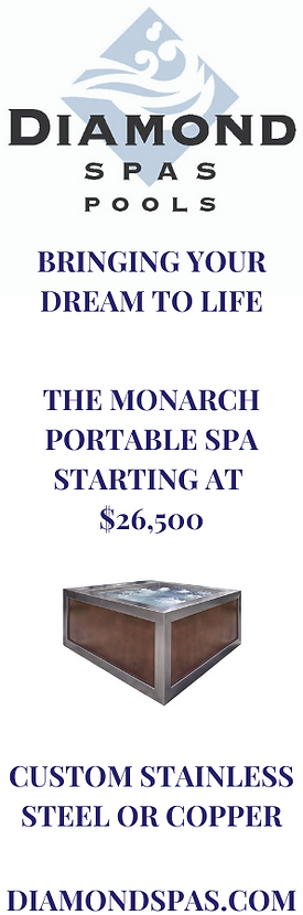 THE MONARCH DIAMOND SPAS VERTICAL BANNER