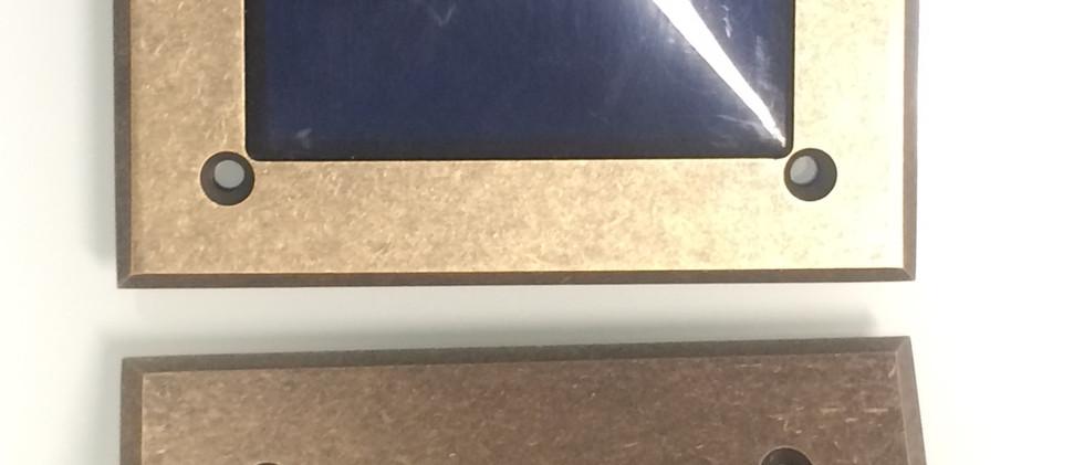 Bronze martelé