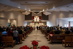 Wedding Christmas church altar.jpg