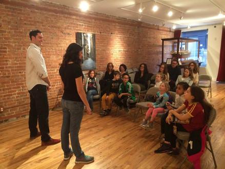Pinocchio in Manhattan: Theater Workshop