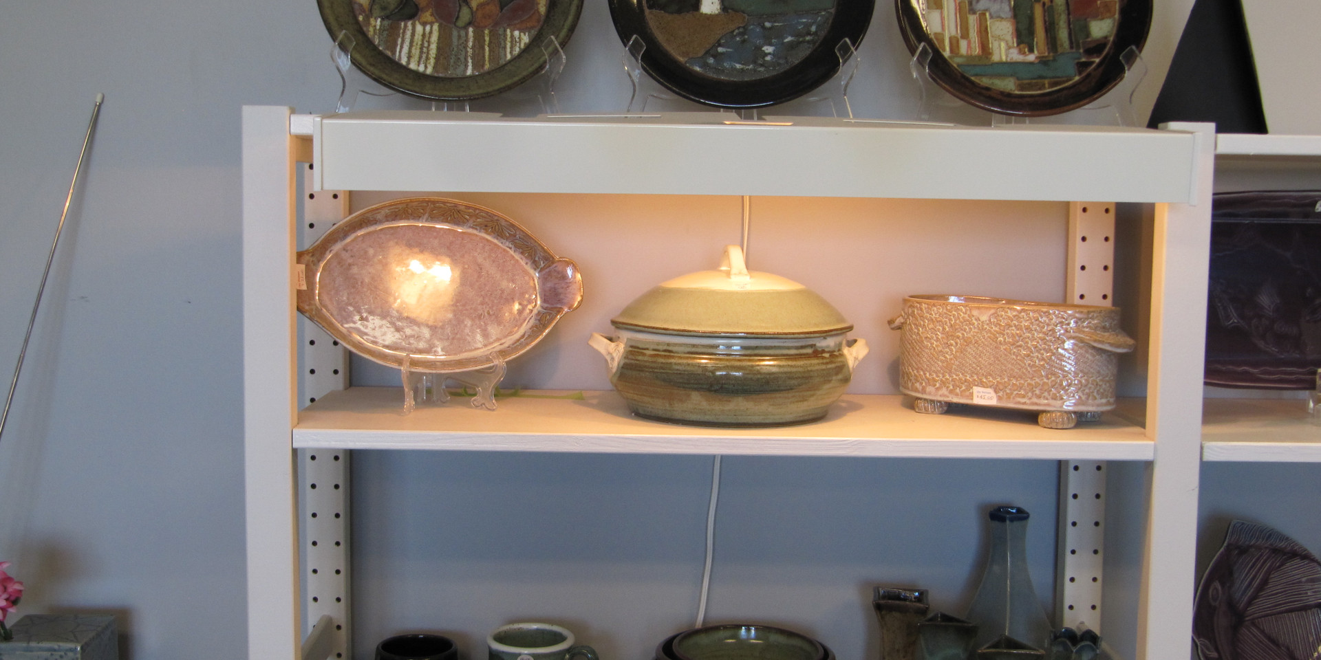 Pottery Gallery Display