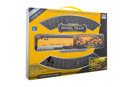 Diesel Construction Train Set (20-pc)