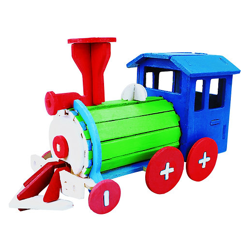 Paint DIY Locomotive