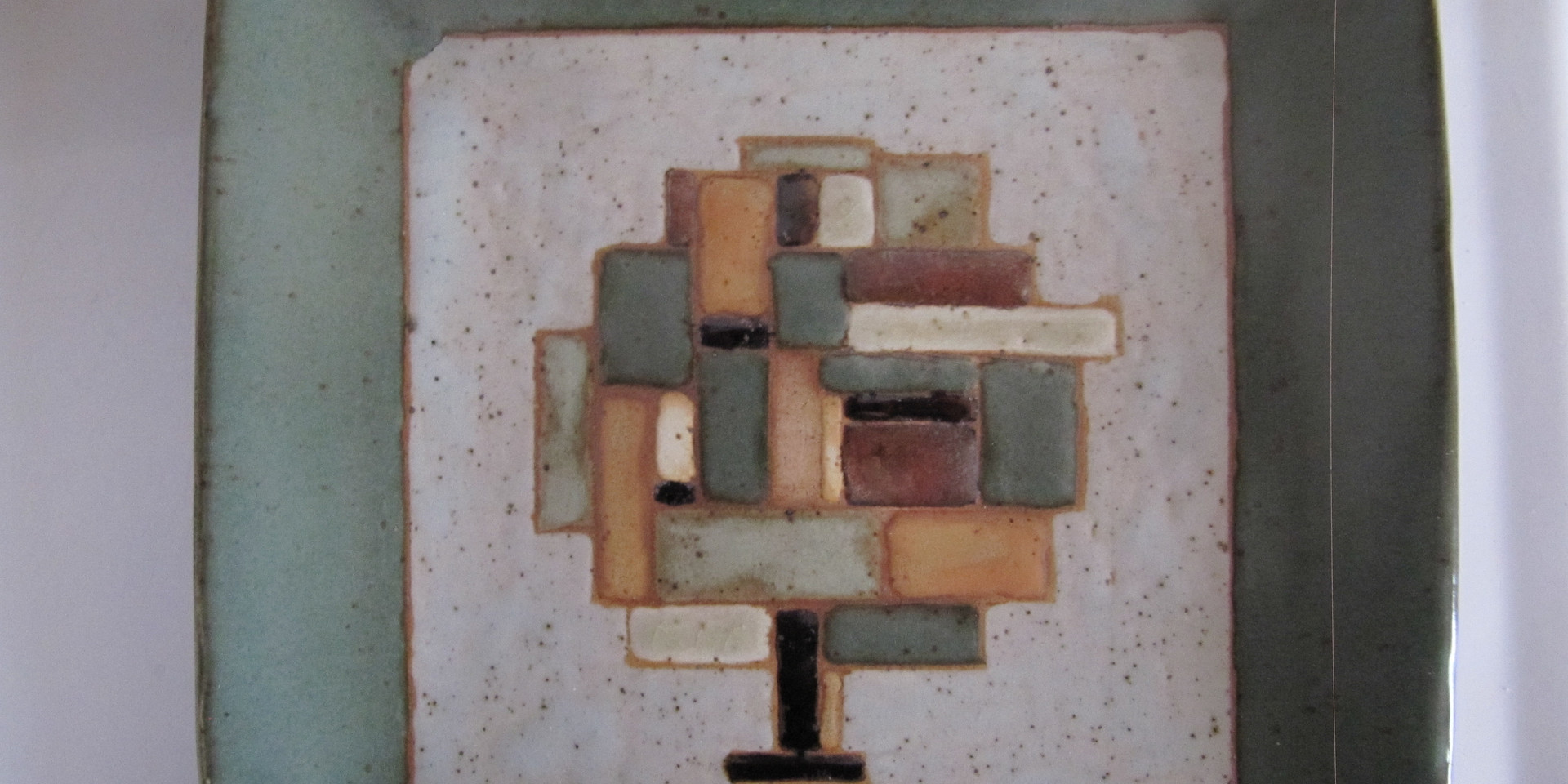 Abstract Tree on Plate