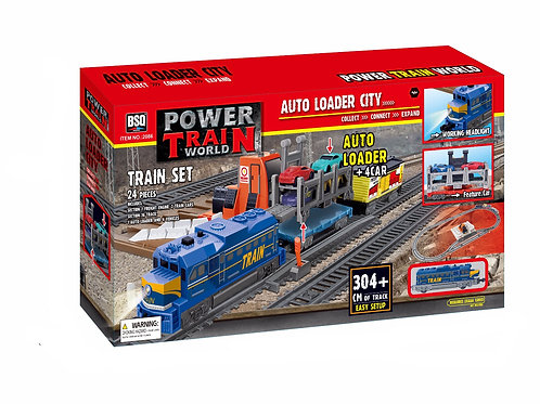 Power Train World Auto Loader Set
