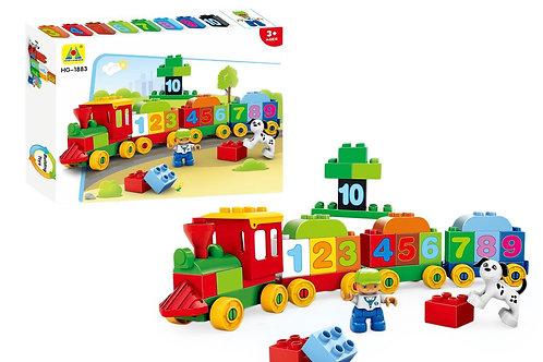 Lil Engine 48pc Block Train