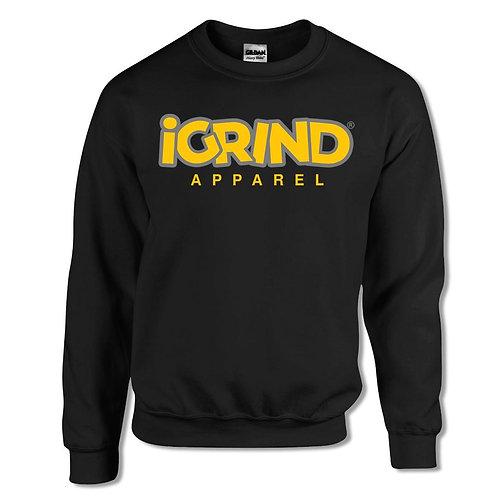 """iGrind """"Caution"""" Crew Sweater"""
