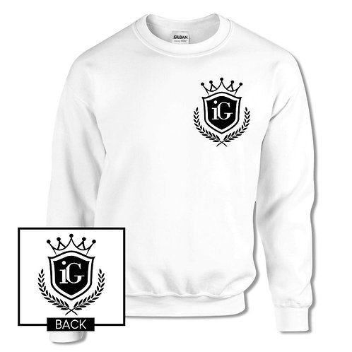 """iGrind """"Crown"""" Collection Crew Sweater"""