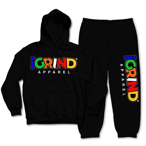 "iGrind ""Multicolored"" Varsity Sweatsuit"