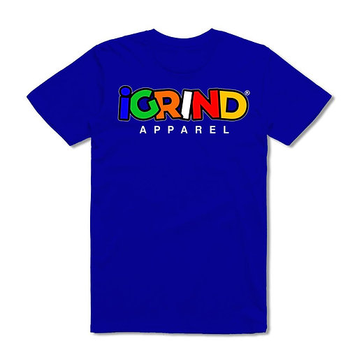 """iGrind """"Multicolored"""" T-shirt Collection"""