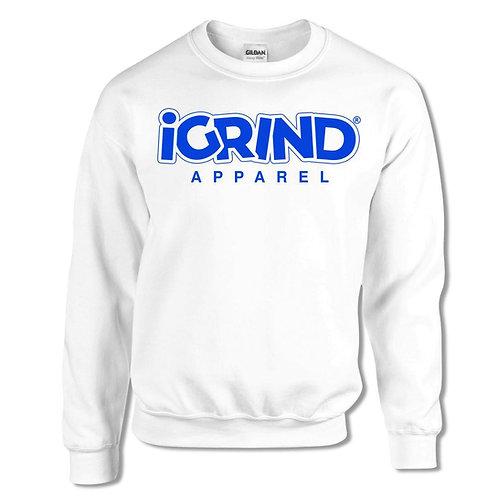 "iGrind ""Royal Blue"" Crew Sweater"