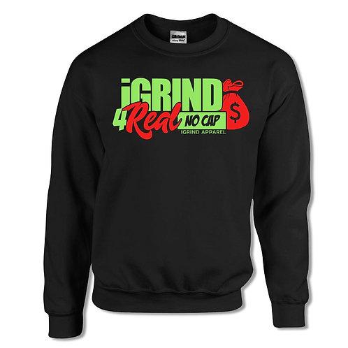"""iGrind """"No Cap"""" Crew Sweater"""