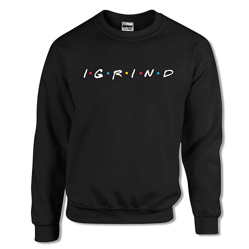 "iGrind ""Dotted"" Crew Sweater"