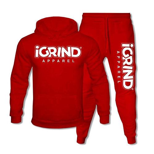"""iGrind """"Red"""" Jogger Set"""