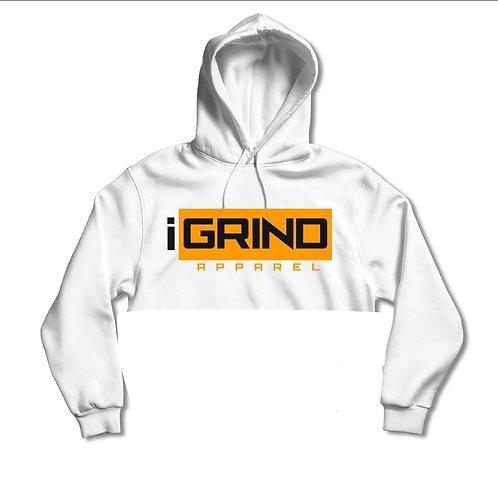 iGrind Crop Neon Hoodie