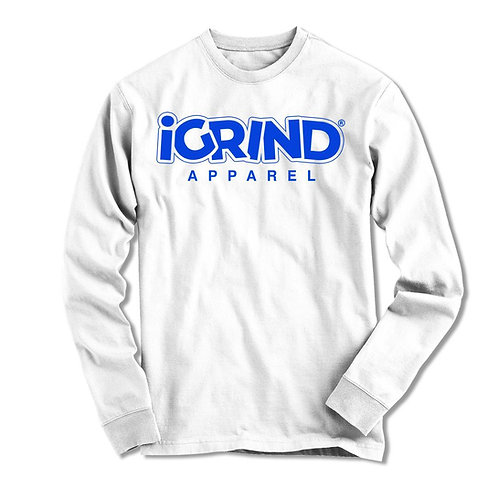 "iGrind ""Royal Blue"" LS Tshirt"