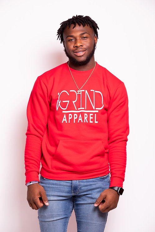 "iGrind ""Crew Pocket"" Sweater"