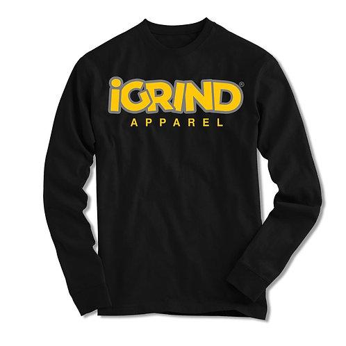 """iGrind """"Caution"""" LS T-shirt"""