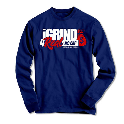 "iGrind ""No Cap"" Long Sleeve T-shirt"