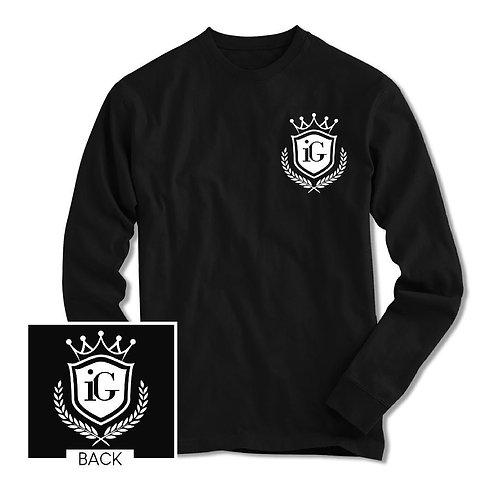"""iGrind """"Crown"""" LS Tshirt"""