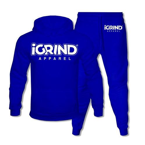"""iGrind """"Royal Blue"""" Jogger Set"""
