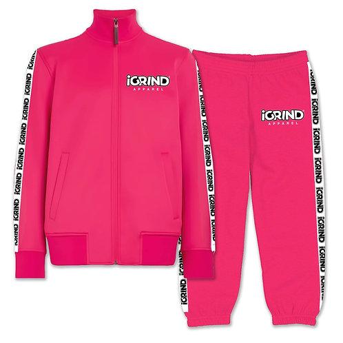 """iGrind Pink """"Ladies"""" Track Suits"""