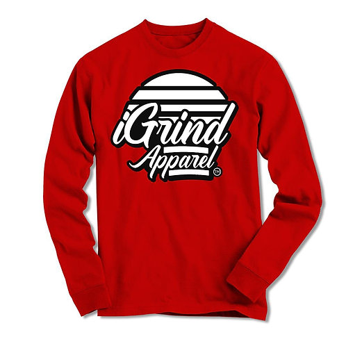 "iGrind ""Flash"" Long Sleeve Unisex T-shirt"