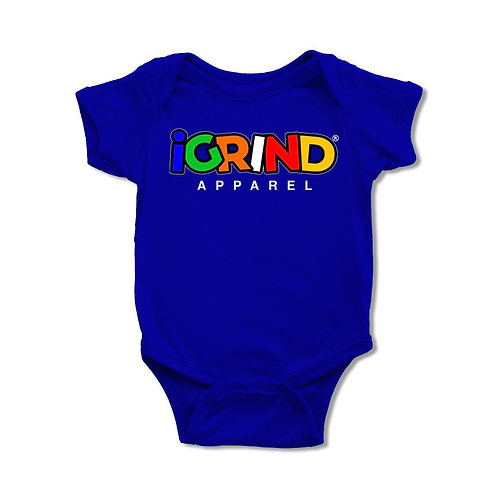 """iGrind """"Multicolored"""" Onesie"""