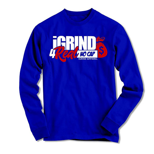"iGrind ""No Cap"" Long Sleeve"