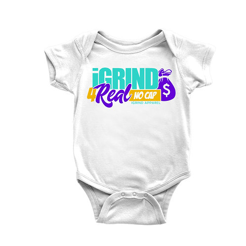 iGrind 4 Real No Cap Onesie