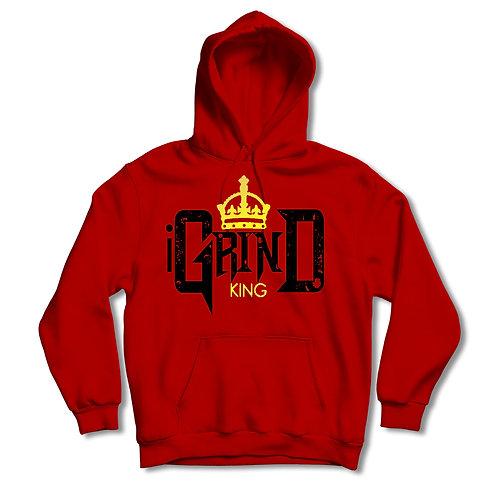 """iGrind """"King"""" Red Hoodie"""