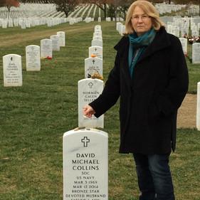 Meg Ardner, retired US Major in Kosovo.