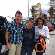 Silke saving the lives of so many animals in need in Crete, Greece.