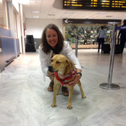 Joy and Chantal in Greece on their way to Canada.