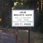 JBLM Mounts Gate