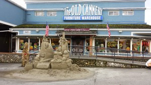 Entrance to The Old Cannery
