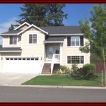 Front of home for sale in Yelm Washington