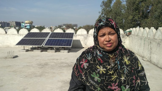 Ms. Magazine: India's First Women's Mosque Goes Solar