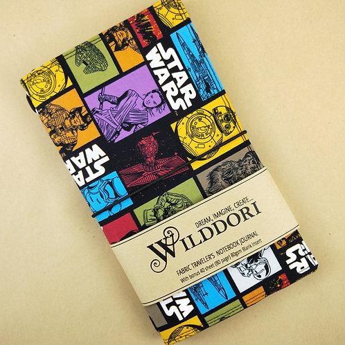 Wilddori 'Wars in the Stars' Traveler's Notebook Journal