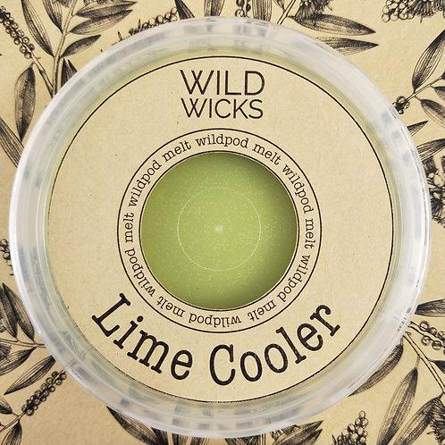 Wild Wicks Lime Cooler Wildpod Soy Melt