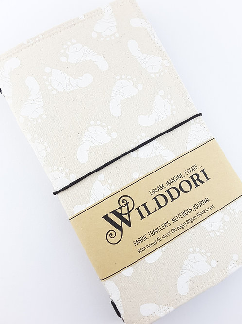 Wilddori 'Calico Baby Steps' Traveler's Notebook Journal