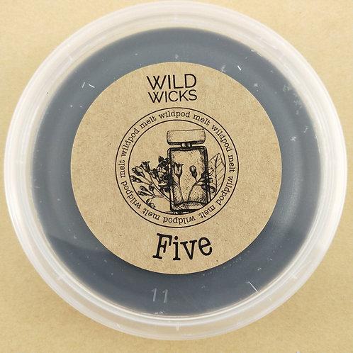 Five Wildpod Soy Wax Melt