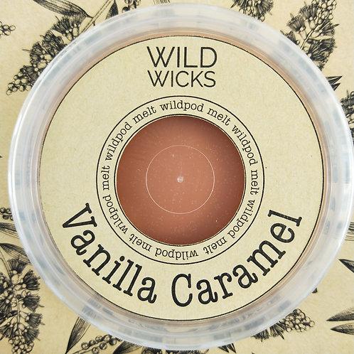 Wild Wicks Vanilla Caramel Wildpod Soy Melt