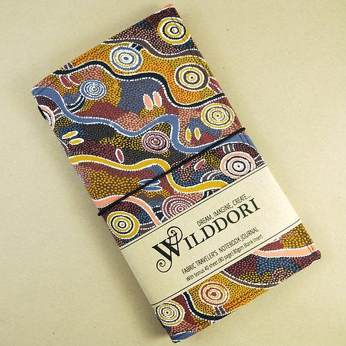 Wilddori 'Desert Tracks' Traveler's Notebook Journal